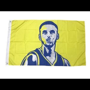 Stephen Curry Golden State Warriors Flag 3x5FT